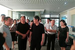 2018年8月10日,省人大副主任徐济超来公司调研工作